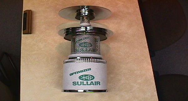 寿力空压机三级油气分离系统,含油量更低