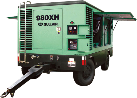980XH-1070RH高压系列柴油机移动式螺杆空压机