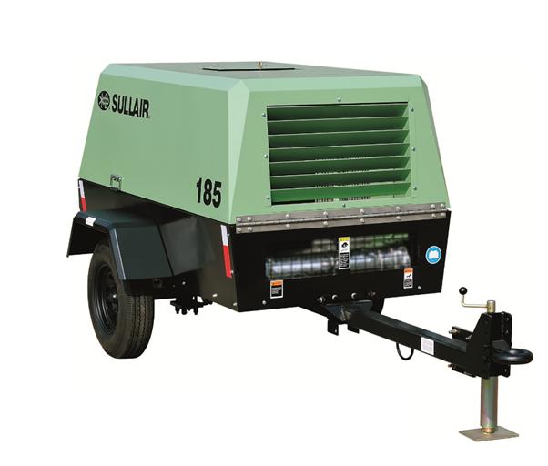 寿力185系列柴油机移动式螺杆空压机