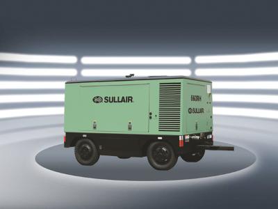寿力550RH-750H中高压系列柴油机移动式螺杆空压机