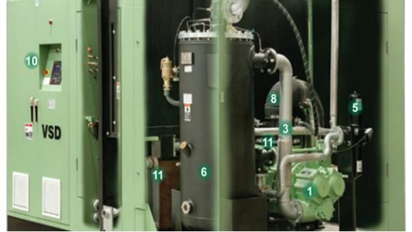 空压机排气压力低达不到预定压力是怎么回事?
