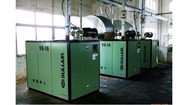 影响螺杆空压机实际排气量的因素