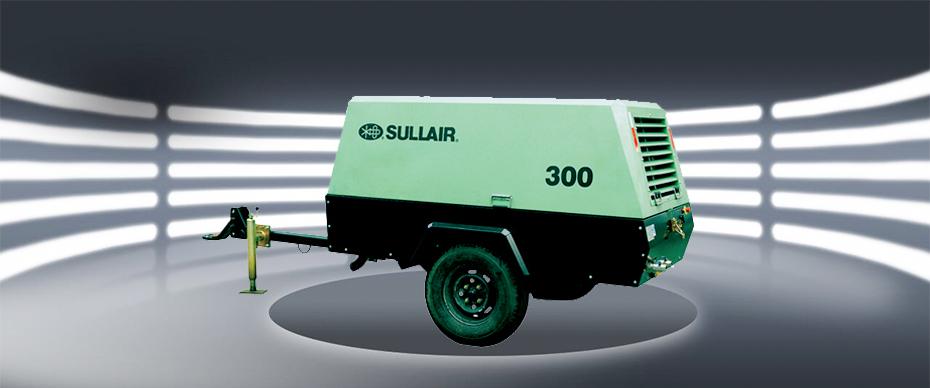 260-320系列低压系列柴油机移动式螺杆空压机