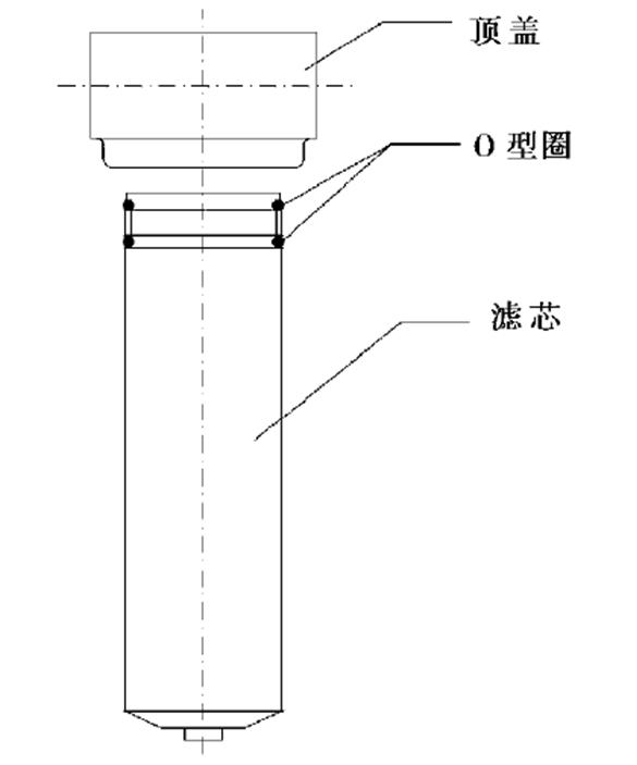 寿力内置油过滤器结构