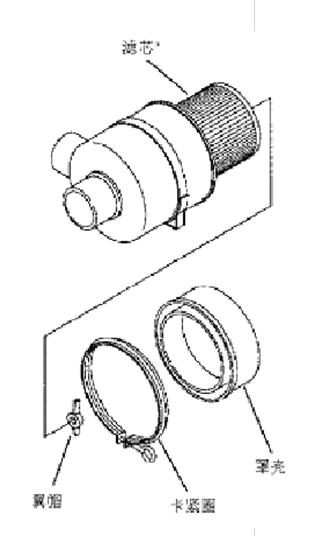 寿力空气过滤器的结构图