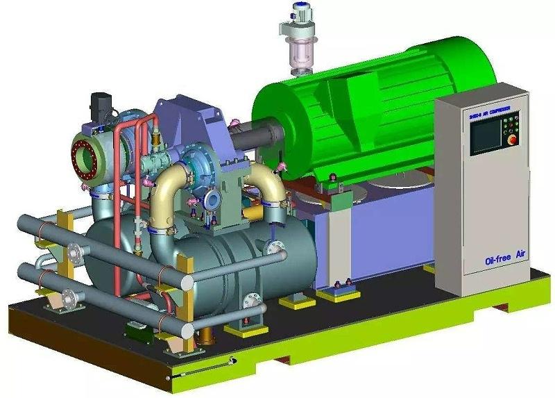 离心式空压机结构