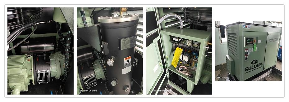 AS寿力空压机现场安装图2