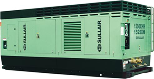 900XHH-1150XH系列柴油机驱动高风压双段式螺杆空压机