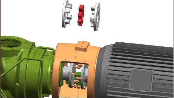 寿力空压机弹性联轴器传动,运行更可靠