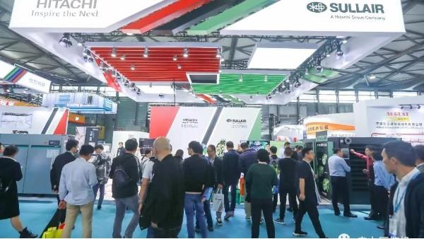 上海压缩机展会首日丨ComVac ASIA 2019寿力展台人气爆棚!